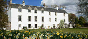 Letham House in the Spring